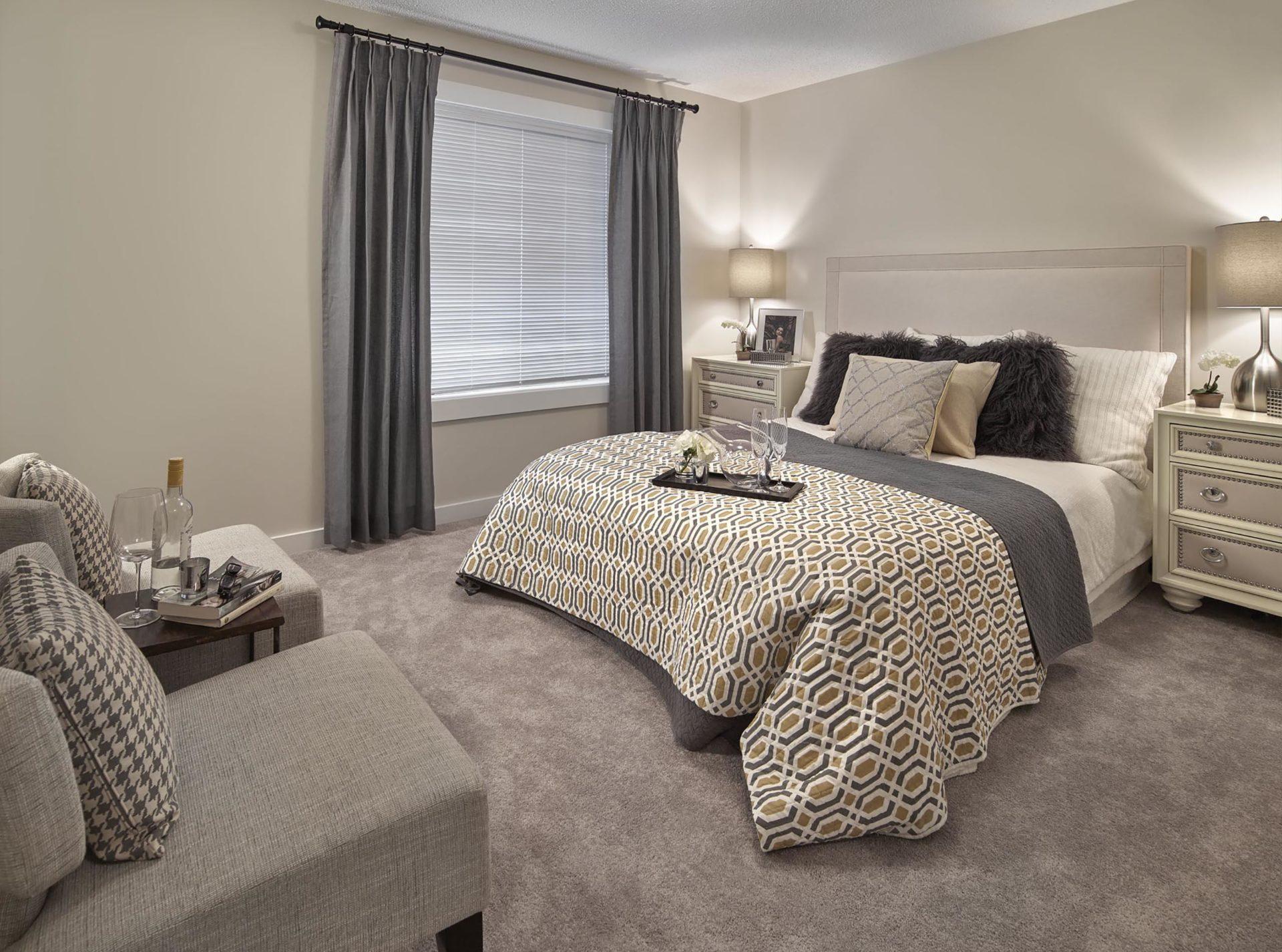 CLIO gallery master bedroom